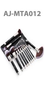 Anjou Pinceaux Maquillage Set 12 Professionnel