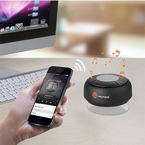 Enceinte Bluetooth Étanche Pour La Douche TaoTronics