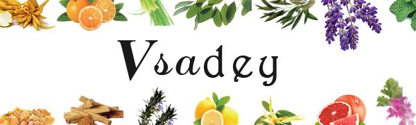 VSADEY Huiles Essentielles Aromathérapie Naturelle 100% Pures 6 * 10ml