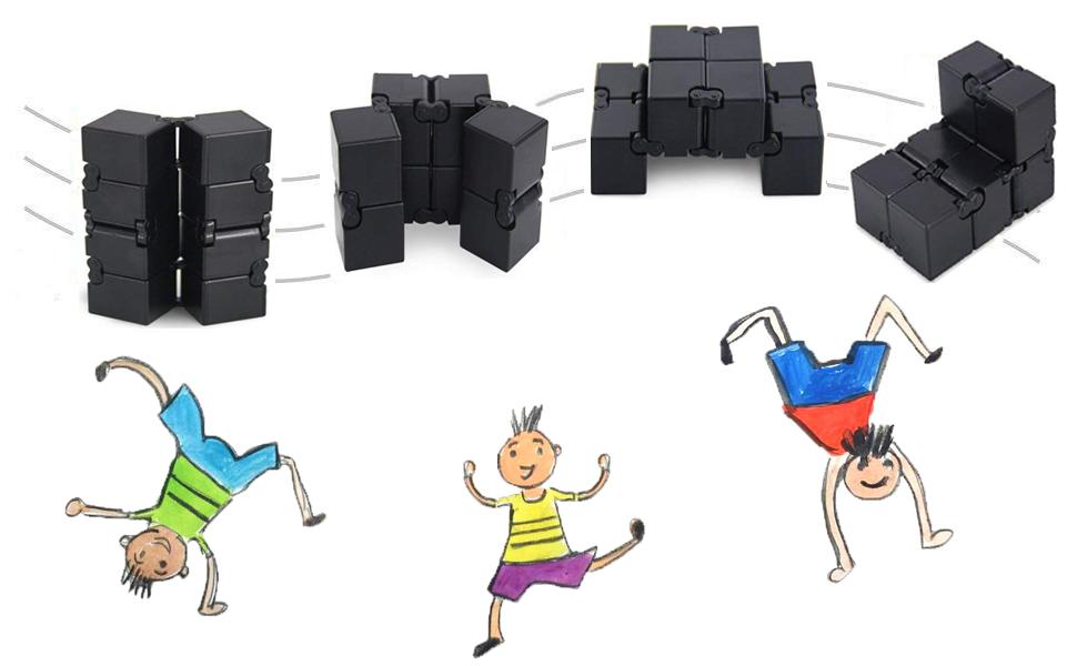 Soyez heureux avec le cube infini!