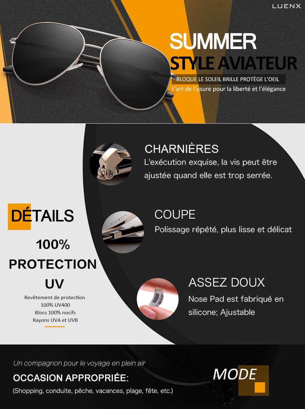 De Avec Étui Homme Poids Polarisé Lunettes Métal Soleil Monture Protection Léger 60m Luenx 400 Miroir Uv 0vmOPyNnw8