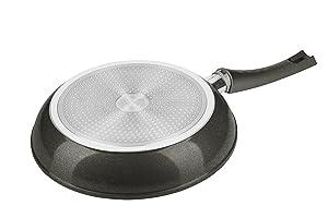 GENIUS-bonafit Diamant Edition casseroles-Set Revêtement 7 Pièces Induction 24540