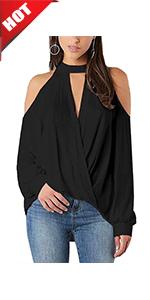 Minetom D/ébardeur Femme /Ét/é El/égant Haut Chemise Blouse sans Manche T-Shirt en Jean Denim Tank Top