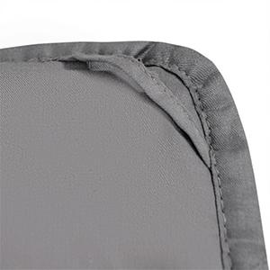 COSTWAY Couverture Pond/ér/ée Couverture de Gravit/é en Tissu de Coton Soulager Le Stress pour Adultes et Enfants 122 x 185cm Grise 5,77 kg