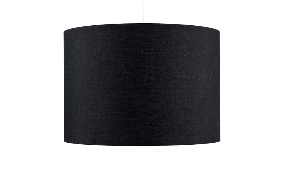 Roller Tambour en Tissu SARCELLE Petite Taille MiniSun Abat Jour Contemporain Pour Suspension ou Pour Lampe /à Table