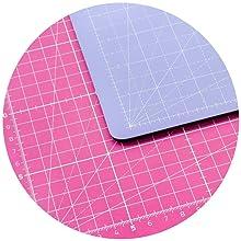 Tapis de coupe rose