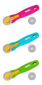 Couteau rotatif 45mm cutter bricolage