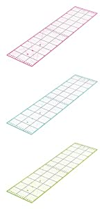 Règle de découpe 60x15cm règle patchwork