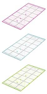 Règle de découpe 30x15cm règle patchwork