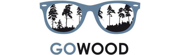GOWOOD - Lunettes de soleil en bois et coques de téléphone en bois