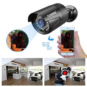 caméra avec détection de mouvement