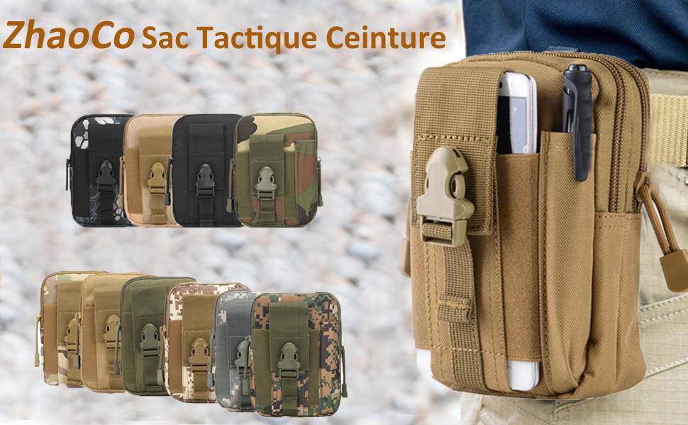 10 Pochette Molle utilitaire Sundries Ceinture extérieur nouveau militaire taille Outils Sac Hold