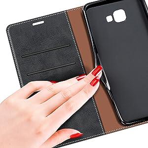MOBESV Coque pour Samsung Galaxy A3 2016, Housse en Cuir Samsung Galaxy A3 2016, Étui Téléphone Samsung Galaxy A3 2016 Magnétique Etui Housse pour ...