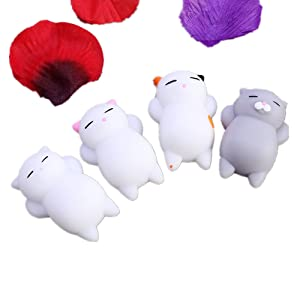 Missley Squishies Toy Mignon Animal Squeeze Slow Rising Squishies Soulagement du Stress Soft Panda Toy Beans