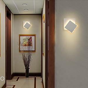 Plus Led 360 Mur De Luminaire Lampe Intérieur Topmo Degrés Réglable iuOPkXZ