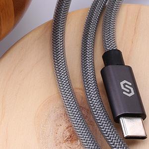 Syncwire Câble USB Type-C à USB 3.0 - Câble USB C Ultra-rapide en Nylon Tressé pour Samsung S9