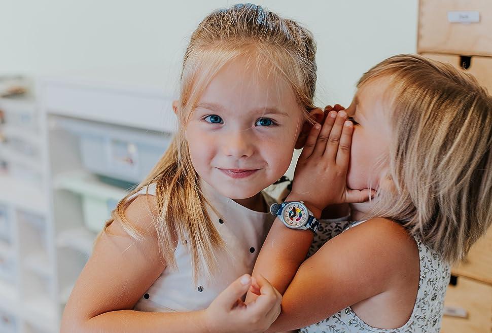 montre enfant enfants cadeau fille garçon 2 3 4 5 6 ans lire l'heure premiere kit ecole montessori