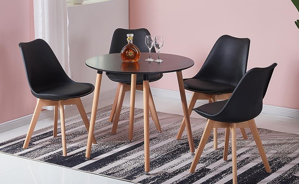 Table Salle à Manger Noir