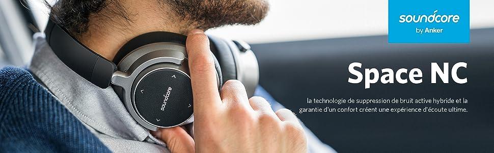 Casque Bluetooth Anker SoundCore Space NC A3021HF1