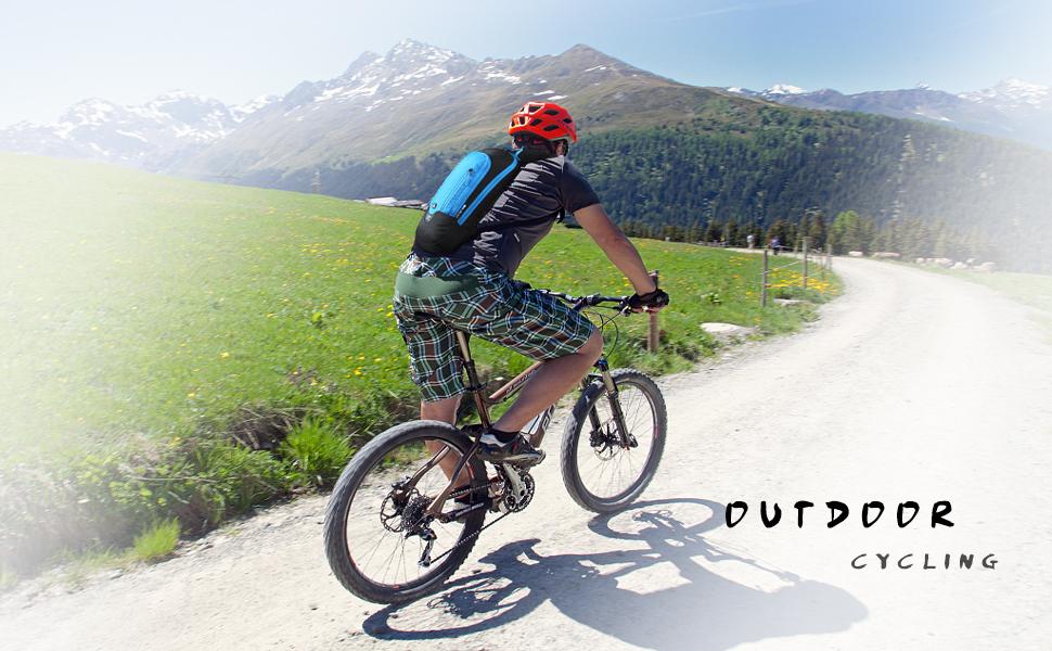 Local lion 6l Sac /à Dos de V/élo Sac de Bicyclette Randonn/ée Alpinisme Montagne Sport Camping Course Sac Cyclisme Ultral/éger Respirable Unisexe