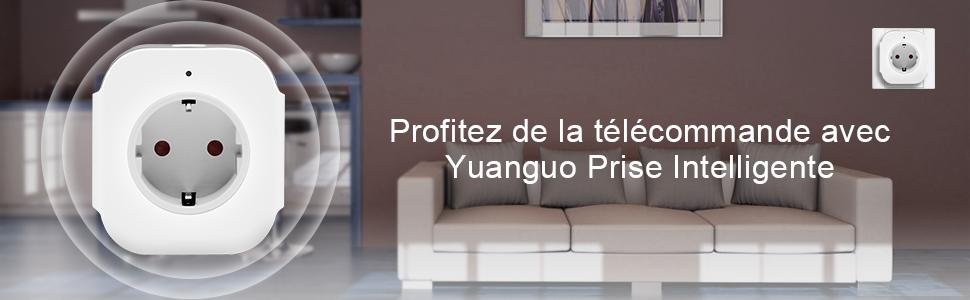 Yuanguo prise intelligente