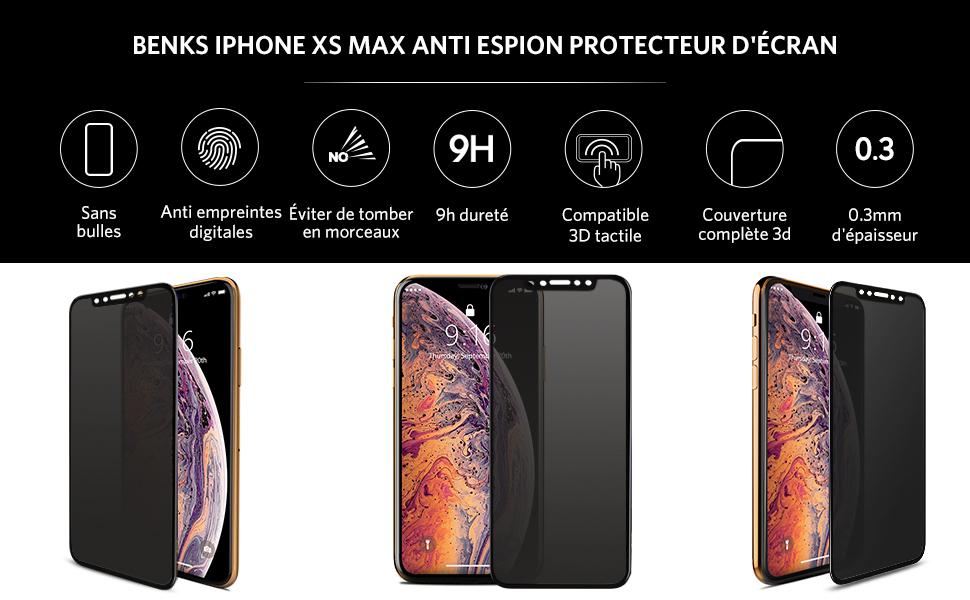 coque anti espion iphone xs max