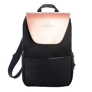 sélection premium 1fa48 5c5c5 Saint Maniero Tendance sac à dos pour femmes, idéal pour aller travailler  ainsi que pour le quotidien – espace de rangement pour ordinateur portable,  ...