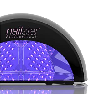 lampe led seche ongles ongle sechoirs  cnd semi permanent uv vernis pied pieds main mains