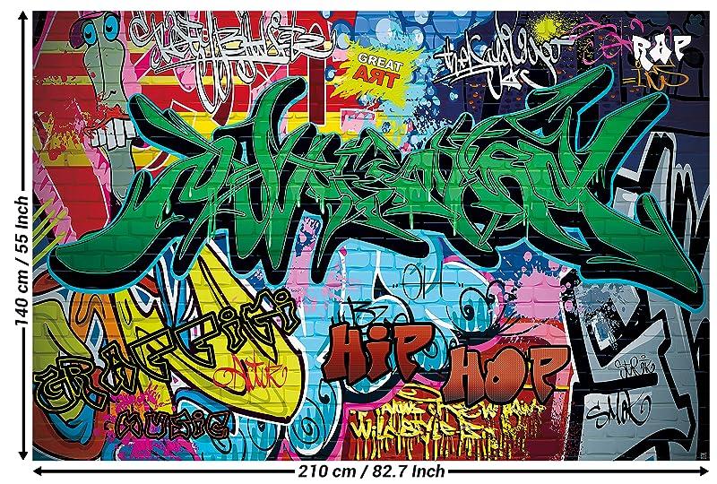 Célèbre Papier peint du style de rue décoration de peinture murale de  QN66