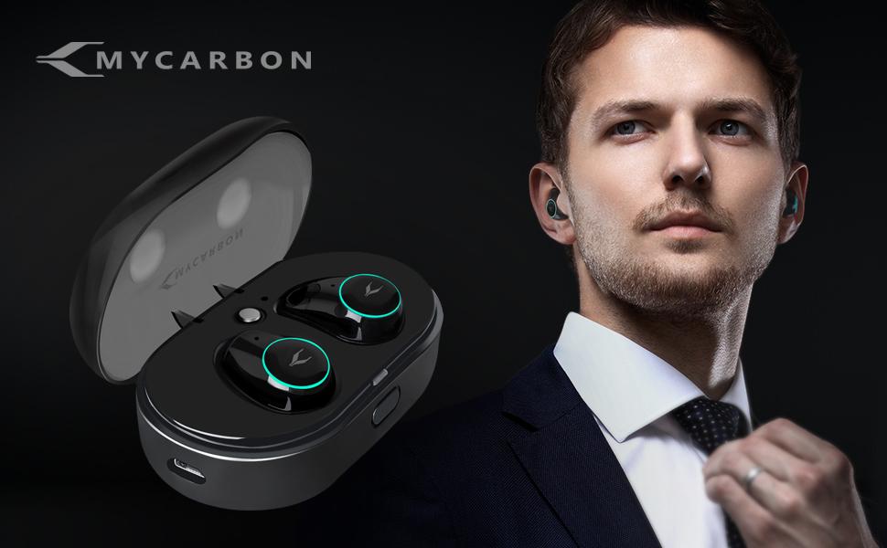 MYCARBON V5.0 Ecouteur Bluetooth Oreillette