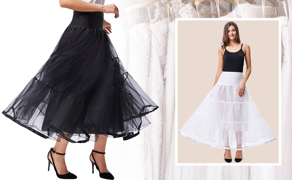 À Propos de ce jupon en fil Belle design et beau fabrication va mieux pour  vous habiller car il a un tour de taille élastique. 2bdd388eb5d8