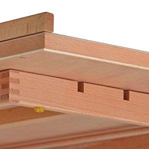 Artina Chevalet de table Montpellier - planche à dessin - Porte livre - En bois d