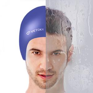 OMID Bonnet de Bain Silicone Bonnet de Natation Chapeaux de Natation Unisexe imperm/éable/pour Cheveux Longs ou Courts/3D Ergonomique Confortable pour Jeune Adultes Femme Hommes