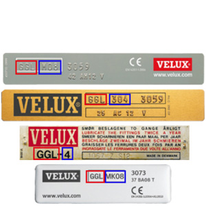 Velux Original Store Occultant Pour Fenêtres De Toit M06 306 14 Noir