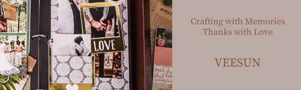 28 x 21cm Scrapbook Mariage Pages Noire DIY Scrapbooking /à Decorer Livre dor VEESUN Album Photo Cuir Cadeau Original Fete des Meres Maitresse D/école Noel Valentin Anniversaire,Couple de Cerfs