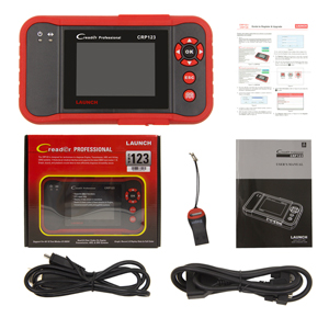 LAUNCH CR VII+ X431 Herramienta de Diagnosis Multimarca OBD2 Pantalla TFT 3.5