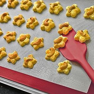 Tapis de cuisson anti-adhérent
