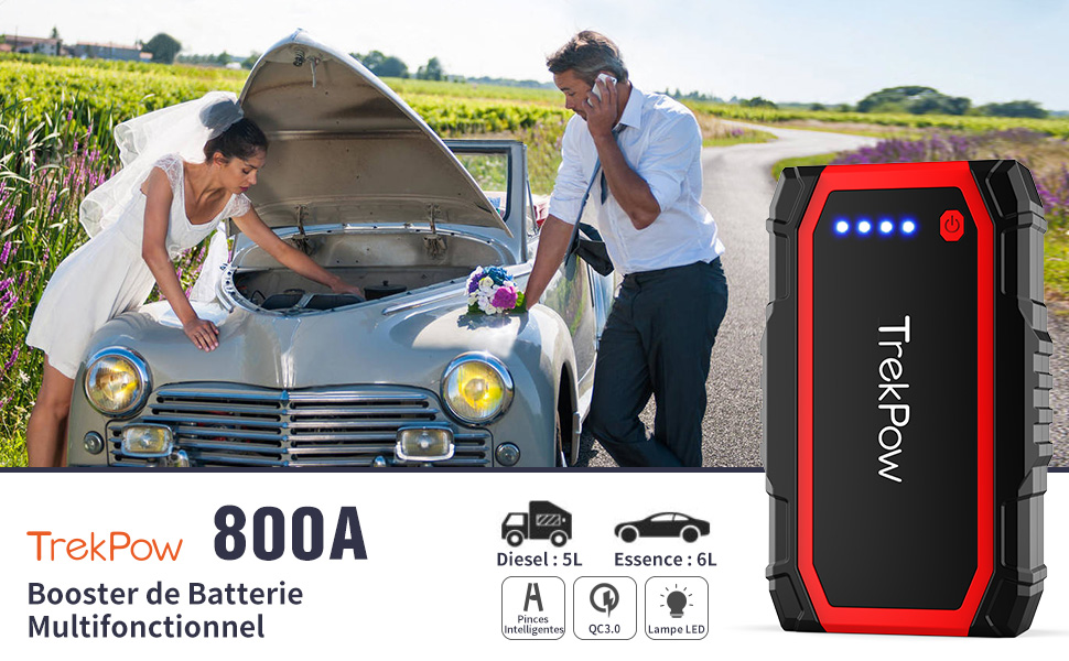 Booster batterie 800A