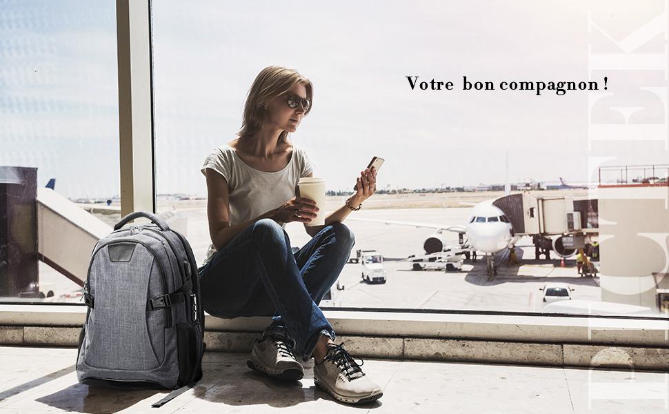 OMORC Sac /à Dos Ordinateur Portable