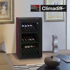 Vos Bouteilles de vin pr/éf/ér/ées saffichent au Mur ! CLIMADIFF Support 3 Bouteilles Casier Mural pour Bouteille de vin Design Acier Inoxydable