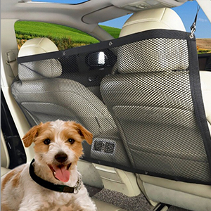 FREESOO Filet pour Voiture pour Animal Portable Filet de Protection Voiture