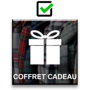 c8a3bb5b039 Pasquale Cutarelli Coffret-cadeau Écharpe en Cachemire Tartan ...