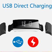 Montre Connectée Bracelet Tracker d'Activité Etanche IP67 Smartwatch Podomètre Sport Femme Homme