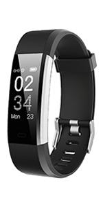 montre connectée femmes homme bracelet connecté smartwatch podometre enfant sport cardio etanche