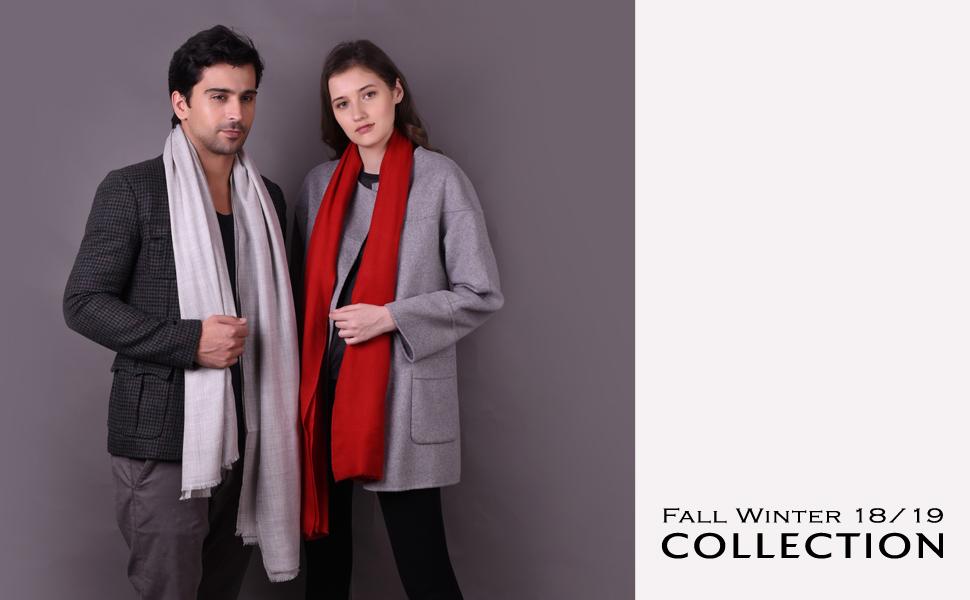 04a355093dc Kashfab Pashmina Cashmere Shawl Stole Muffler Fabric Kashmir Scarf Scarves  Winter Wool Silk Fashion