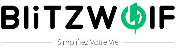 BlitzWolf 10W Barre de Son Bluetooth, Subwoofer Portable Filaire et Sans Fi
