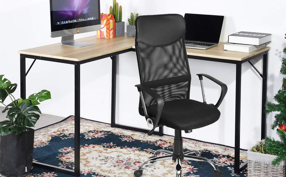 Bureau les suffisant bureau ordinateur en coin désign à l égard