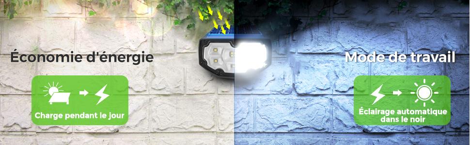 mpow lampe solaire borne de jardin solaire pompe à eau solaire éclairage solaire exterieur
