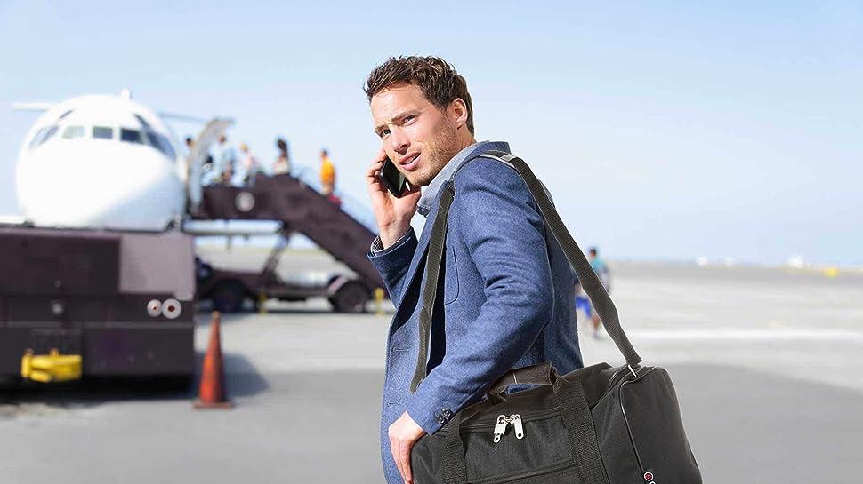 ryanair cabine 35x20x20 valise 55x40x20 emmenez les deux noir noir bagages. Black Bedroom Furniture Sets. Home Design Ideas