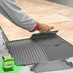 fixations murales sans pile lambris carrelage tapisserie Niveau laser auto-nivelant pour sols finition de menuiserie